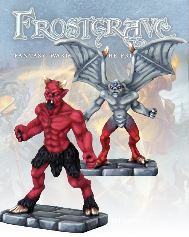 Imp Demon & Minor Demon, Frostgrave