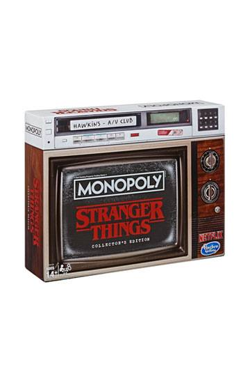 Stranger Things Board Game Monopoly Collectors Edition