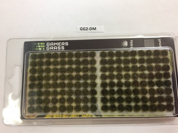 Dark Moss Tufts 2mm, Gamer's Grass