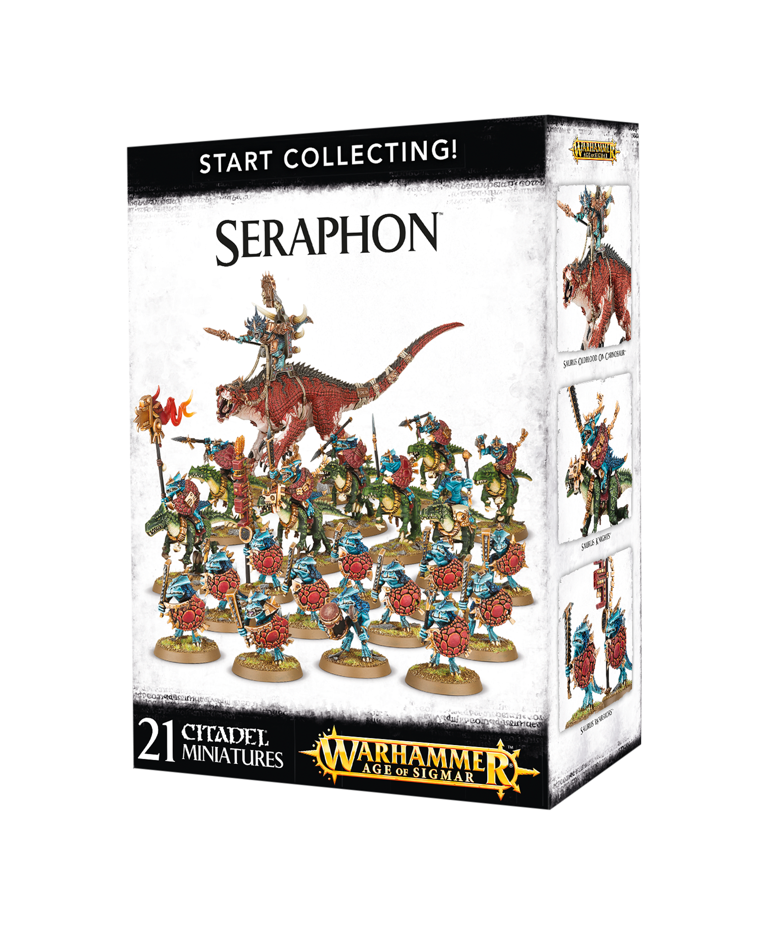 Seraphon, Age of Sigmar, Start Collecting
