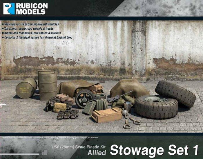 Stowage Set Allied, Rubicon