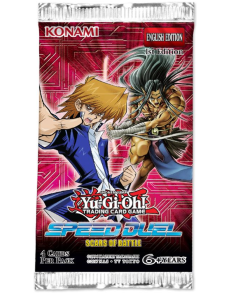 Scars of Battle Speed Duel, Yu-Gi-Oh!