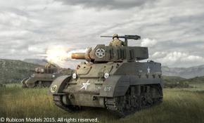 M8 Scott / M5A1 Stuart, Rubicon Models