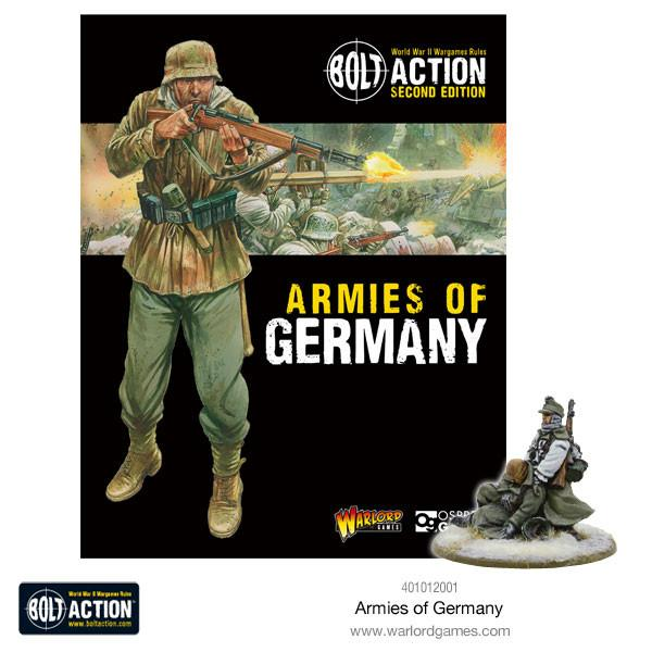 Germany 2nd Edition, Armies of