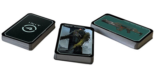 Custom Card Deck, Alien RPG