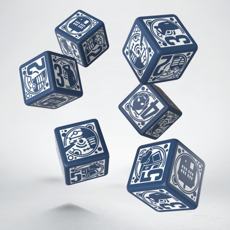 Deluxe Dr Who Dice Set