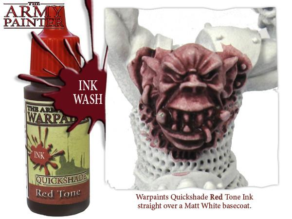 Red Tone Ink, Army Painter Shade