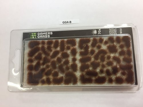 Brown Tufts 4mm, Gamer's Grass