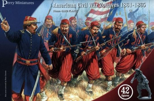 Zouaves, American Civil War, Perry Miniatures