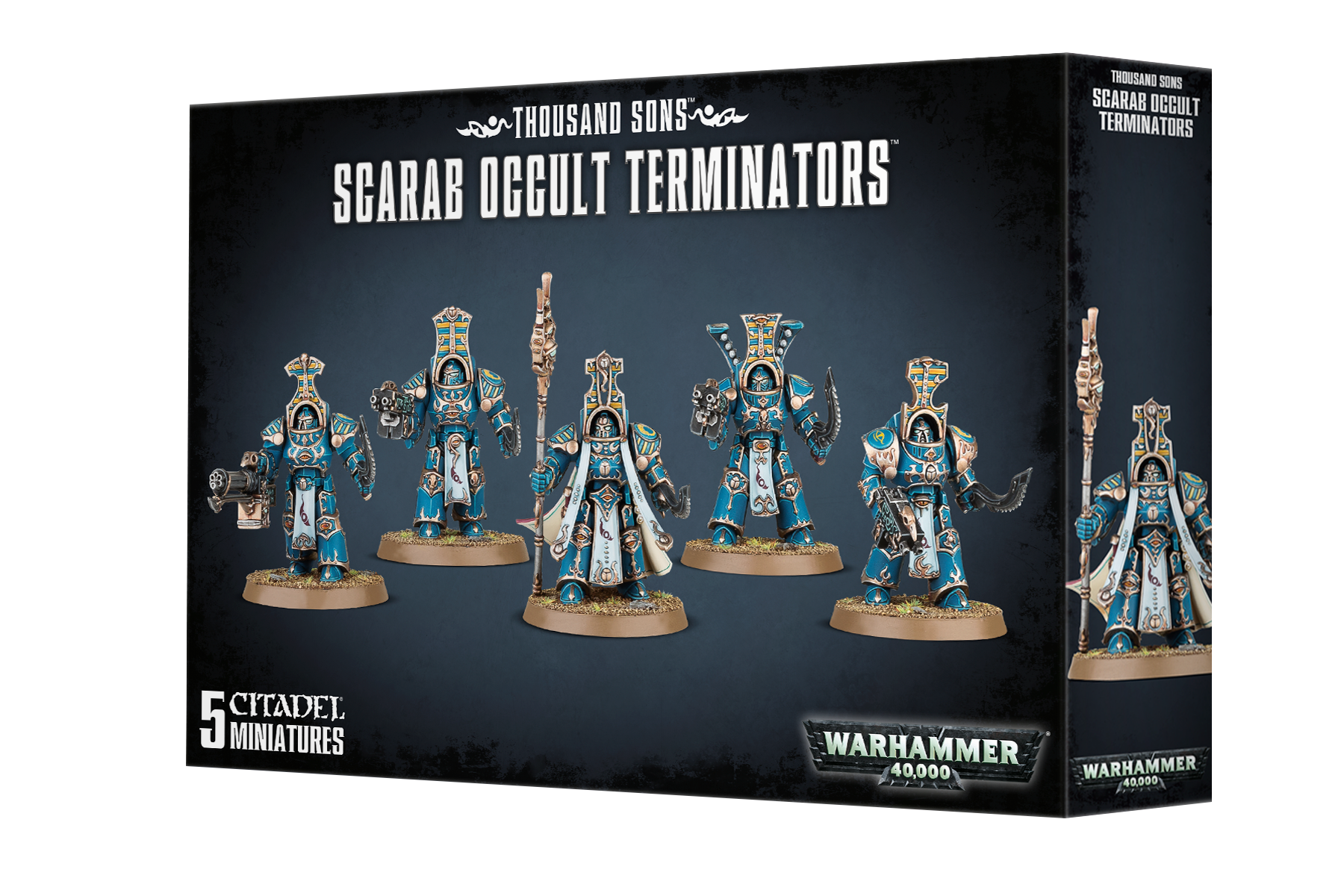 Scarab Occult Terminators Chaos Thousand Sons