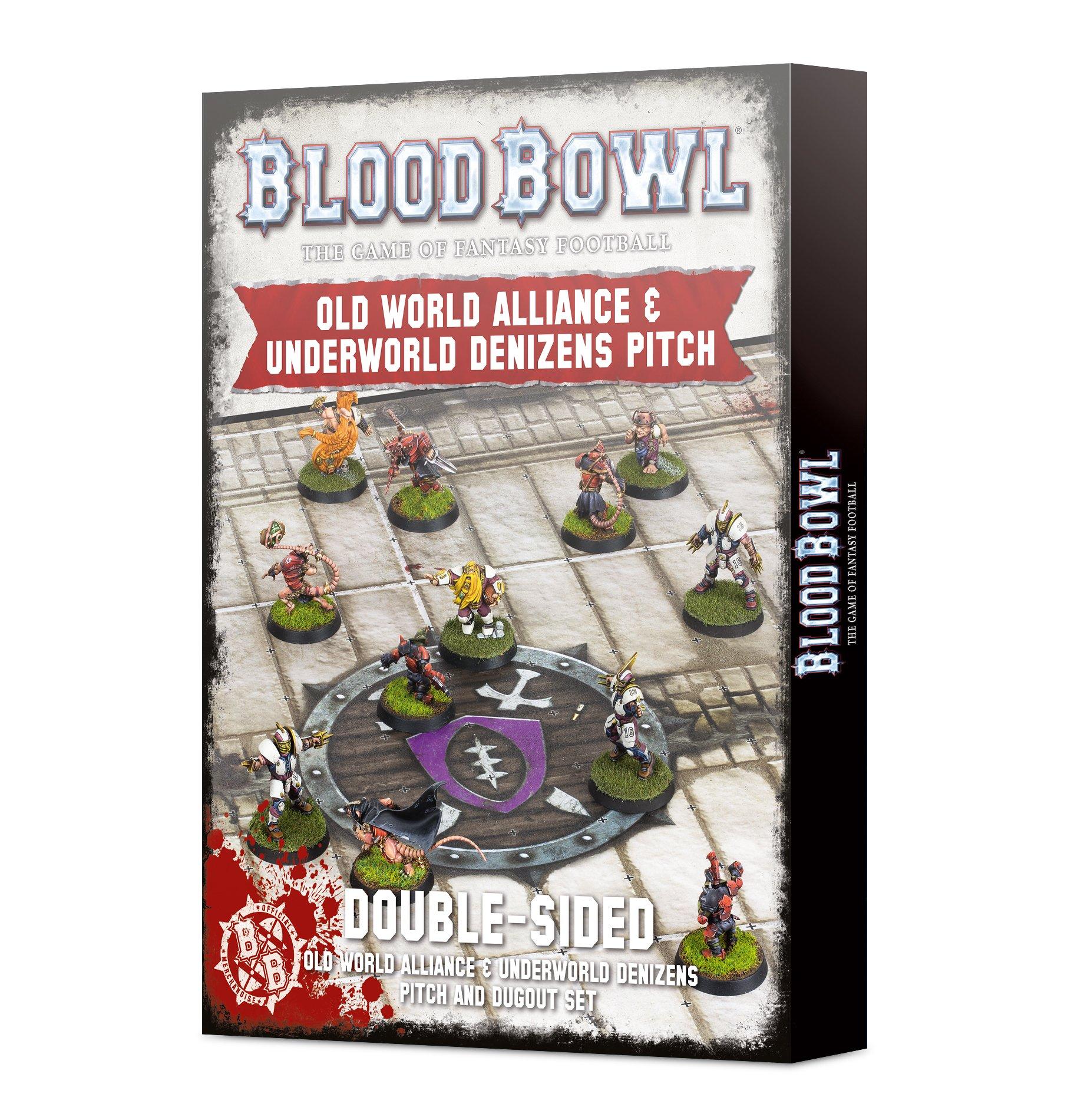 Old World & Underworld Pitch, Blood Bowl