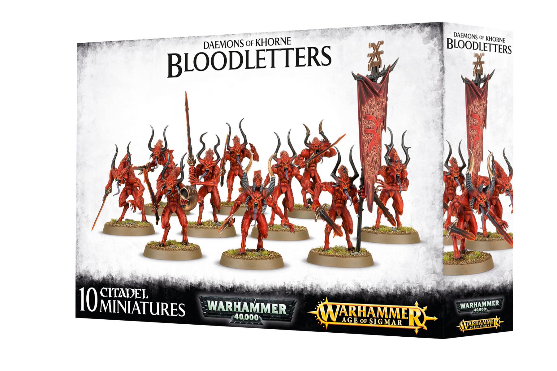 Bloodletters Daemons of Khorne Age of Sigmar