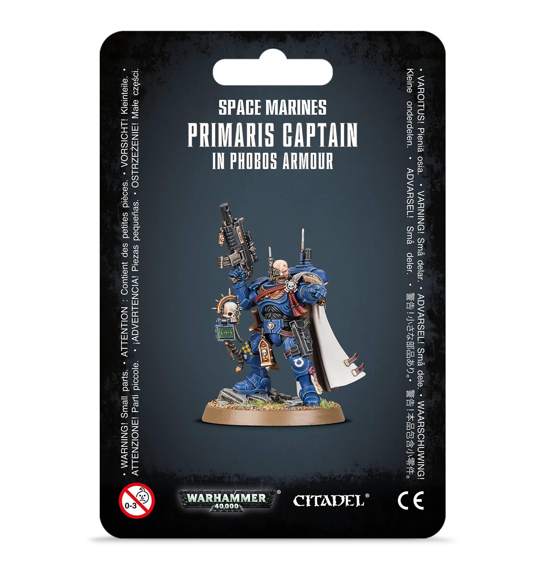 Primaris Captain in Phobos Armour