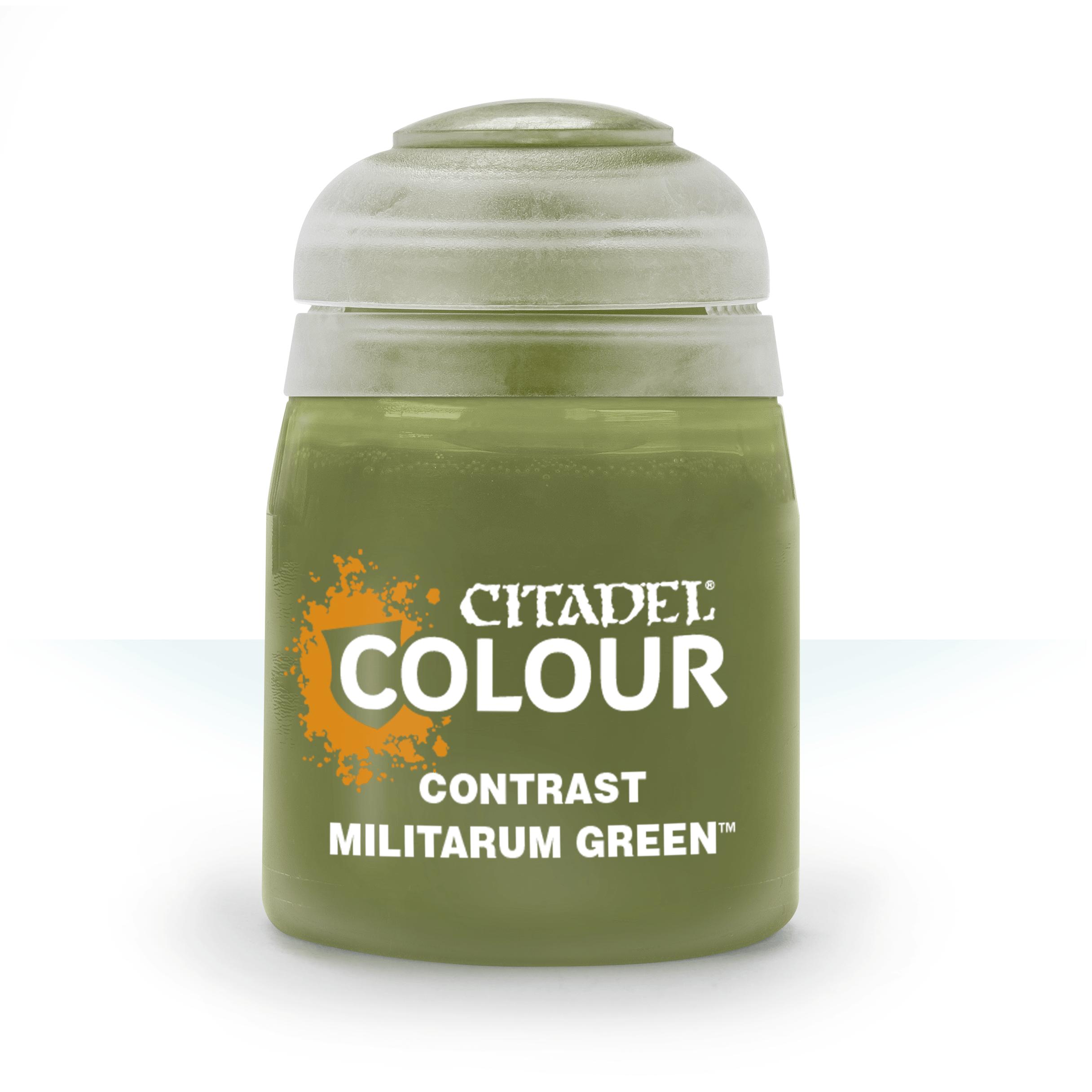 Militarum Green, Citadel Contrast 18ml