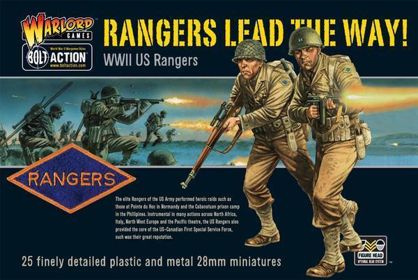 Rangers lead the way! US Rangers