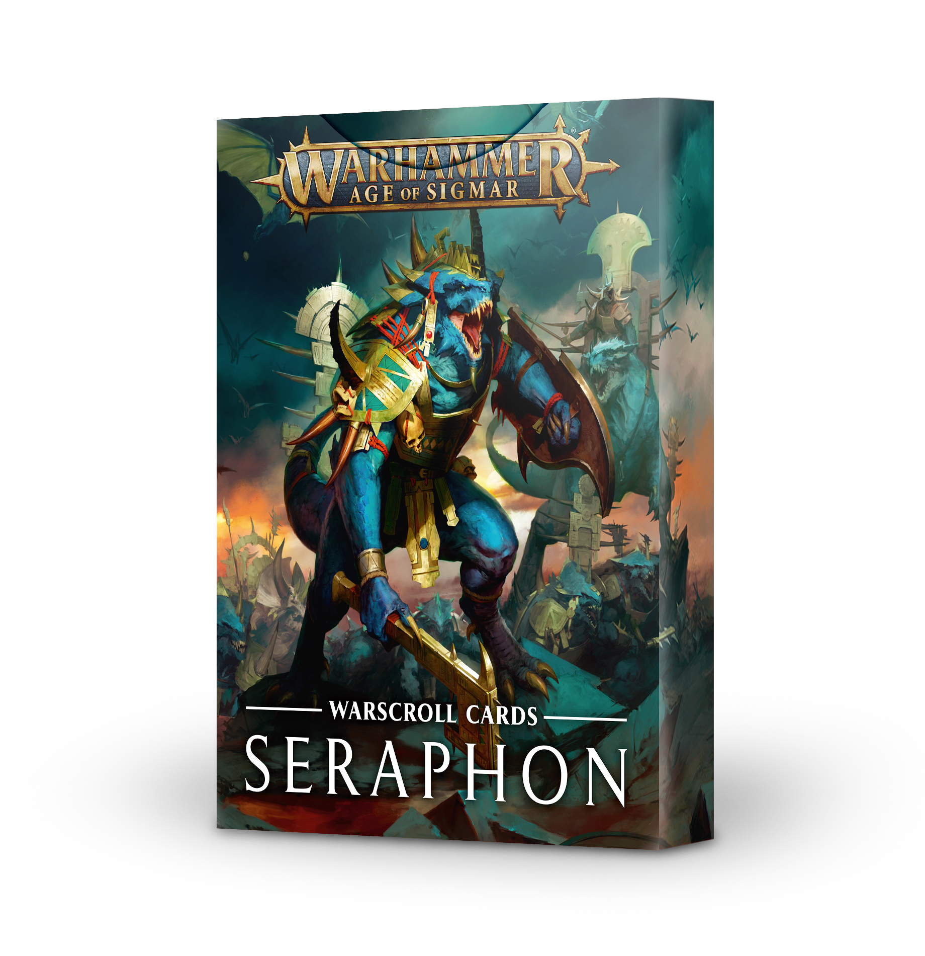Seraphon, Warscroll Cards