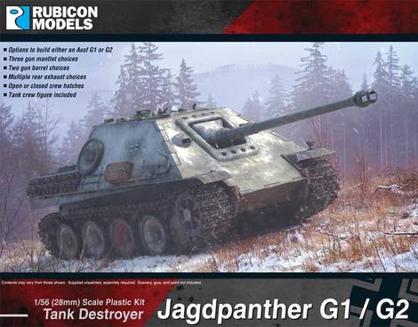 Jagdpanther (G1 / G2), Rubicon Models