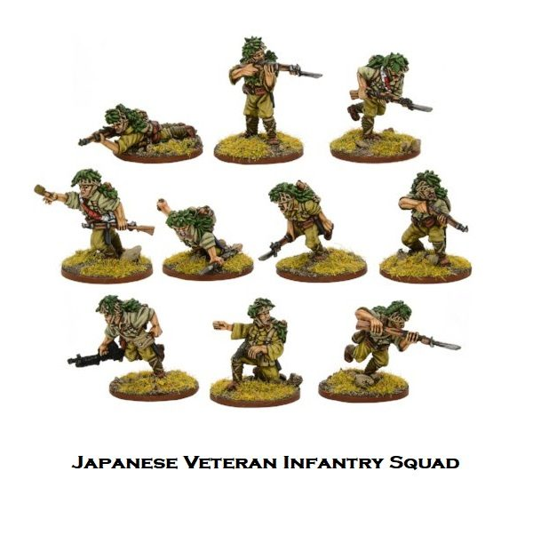 Imperial Japanese Army Veteran Infantry Squad
