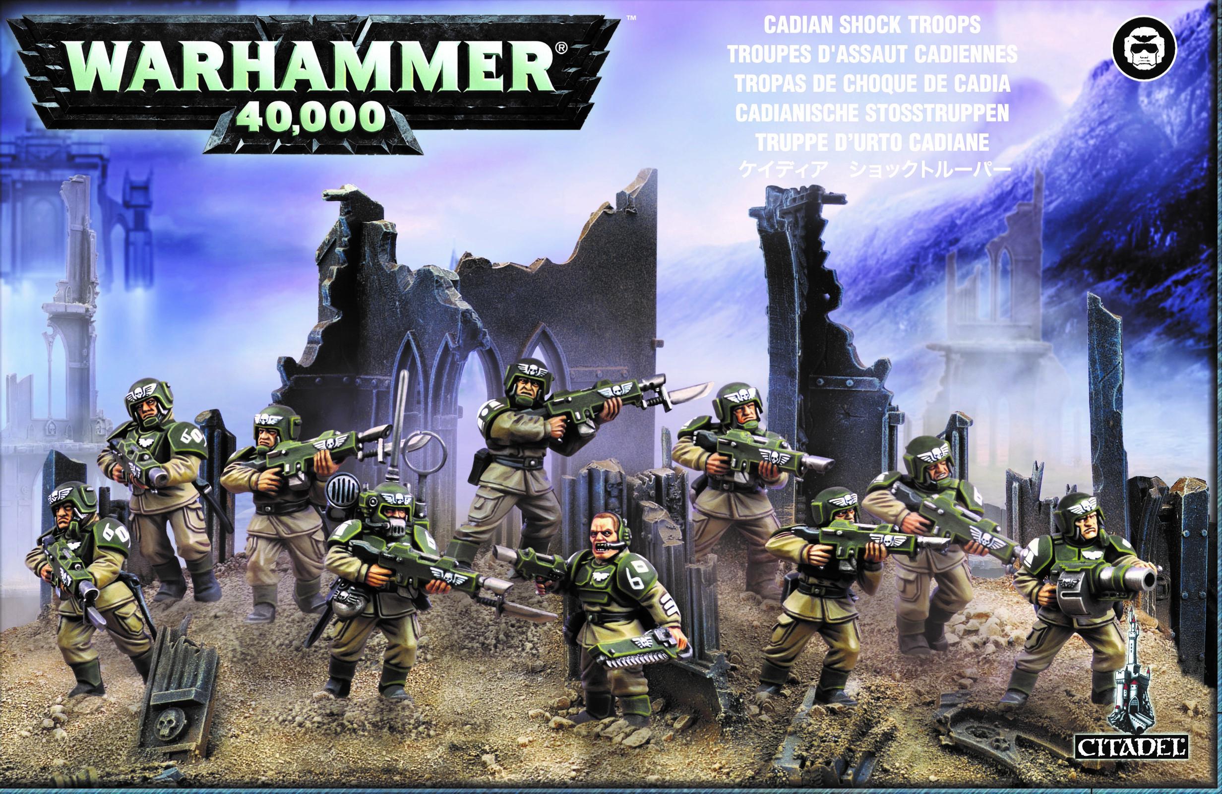 Infantry Squad, Astra Militarum Cadian