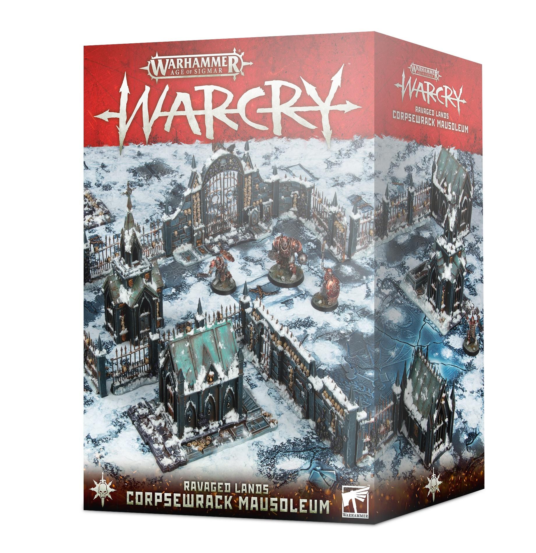 Corpsewrack Mausoleum, Warcry
