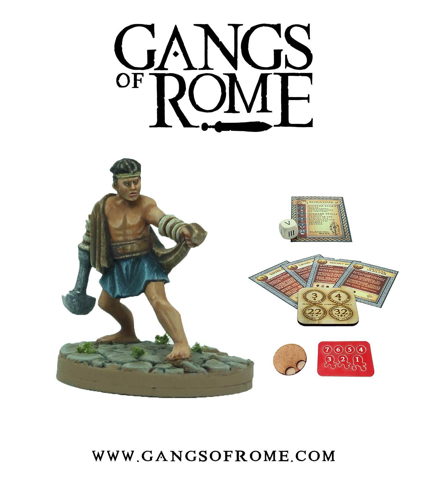 Fighter Tertius, Gangs of Rome