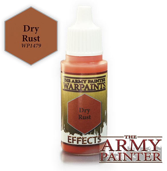 Dry Rust, Army Painter Effects