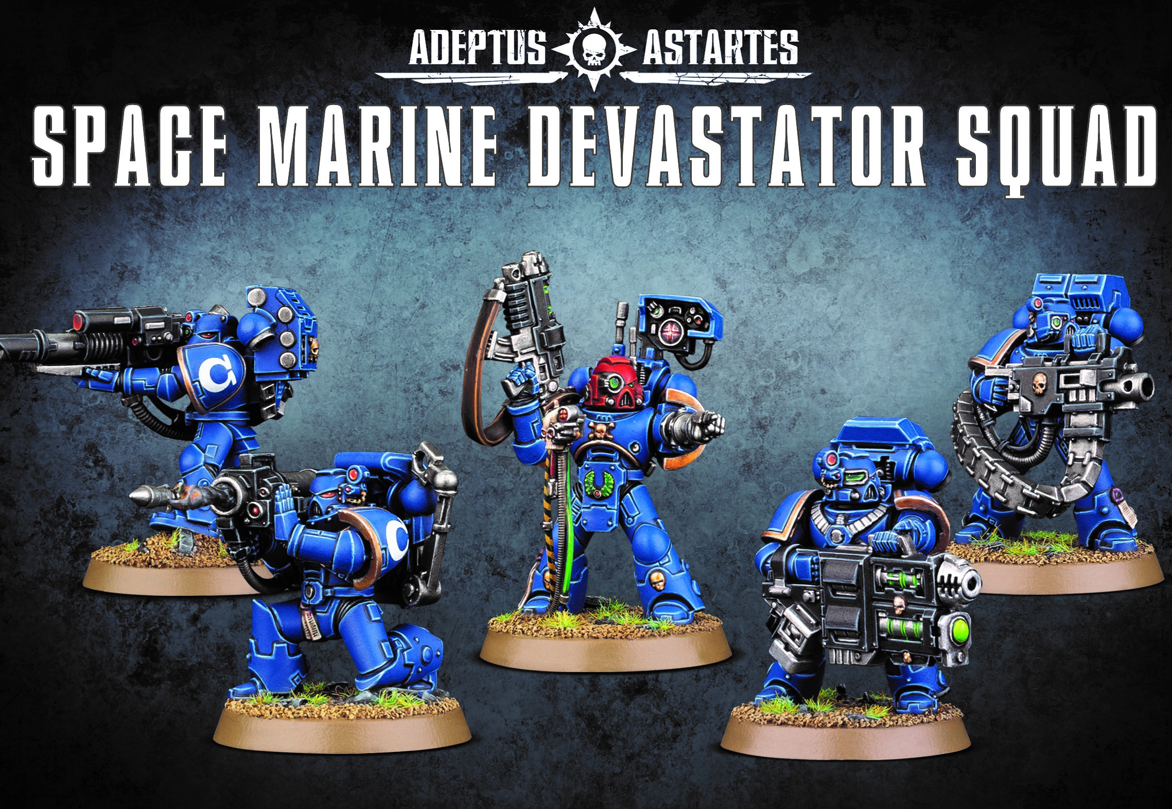 Devastator Squad, Space Marine