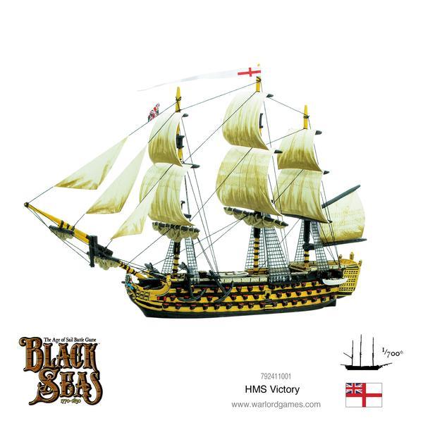HMS Victory, Black Seas