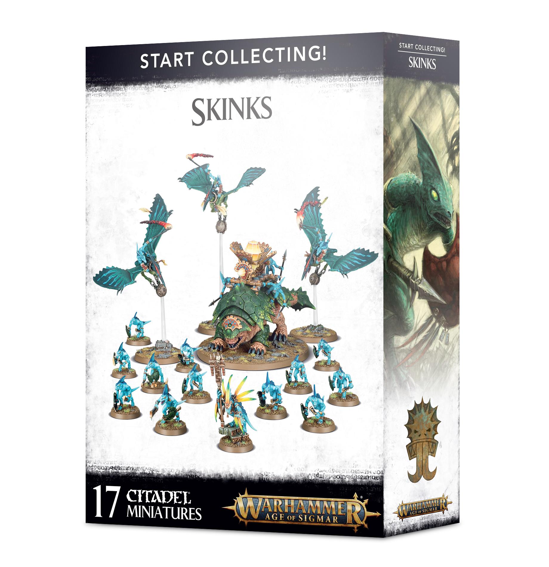 Skinks, Start Collecting