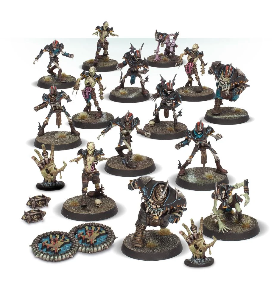 The Champions of Death - Shambling Undead, Blood Bowl