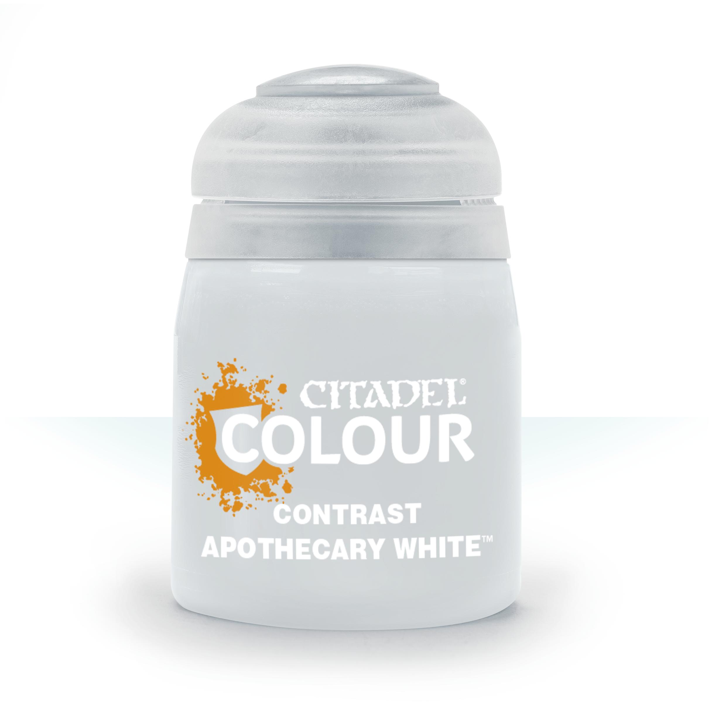 Apothecary White, Citadel Contrast 18ml