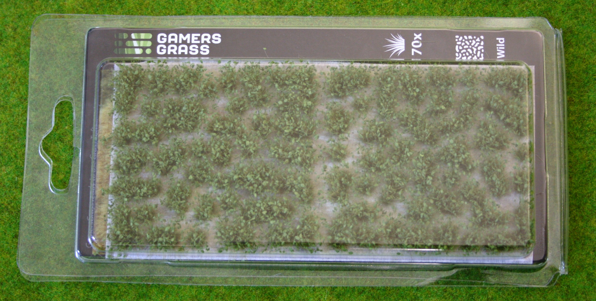 Dark Green Shrub, Gamer's Grass