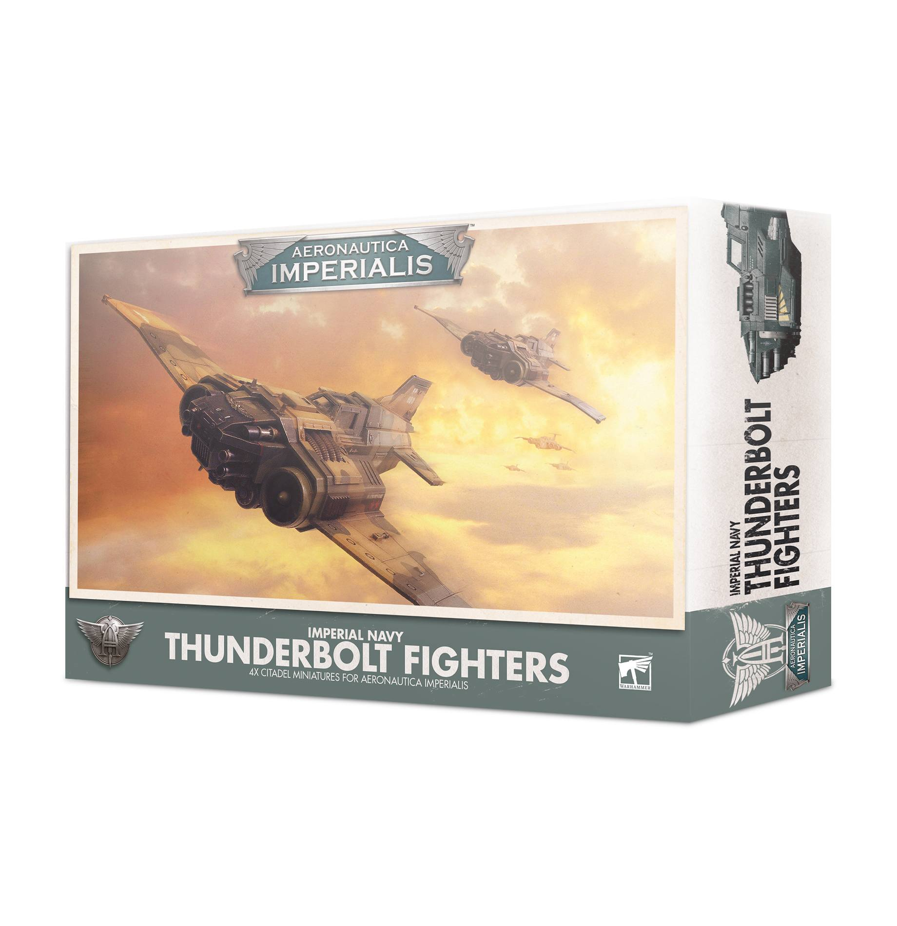 Thunderbolt Fighters, Imperial Navy, Aeronautica Imperialis