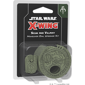 Scum and Villainy Maneuver Dial Upgrade Kit Star Wars X-Wing