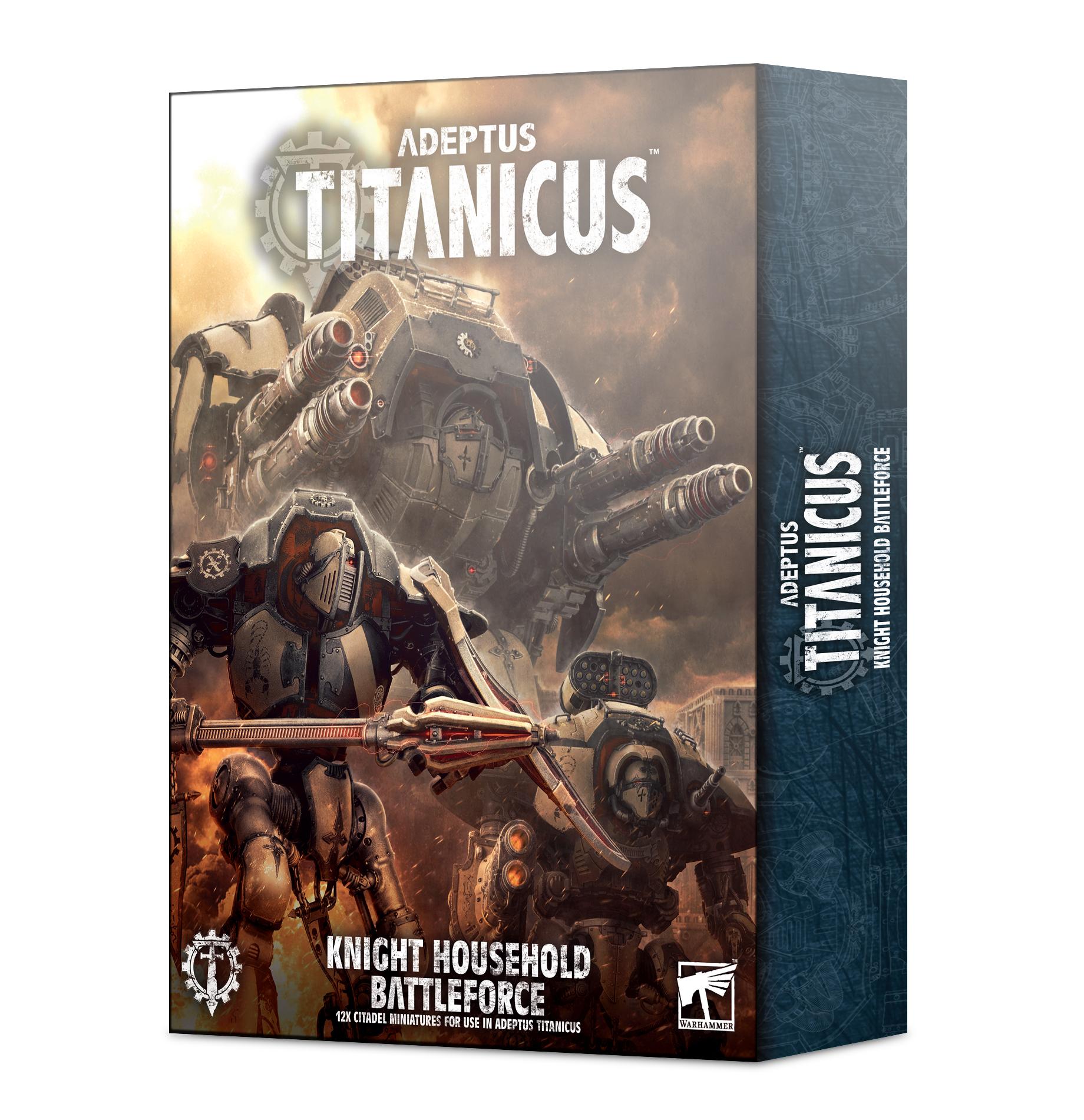 Knight Battleforce, Adeptus Titanicus