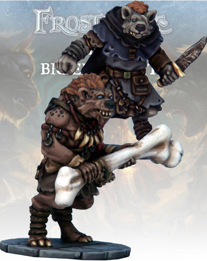 Gnoll Thief & Barbarian, Frostgrave