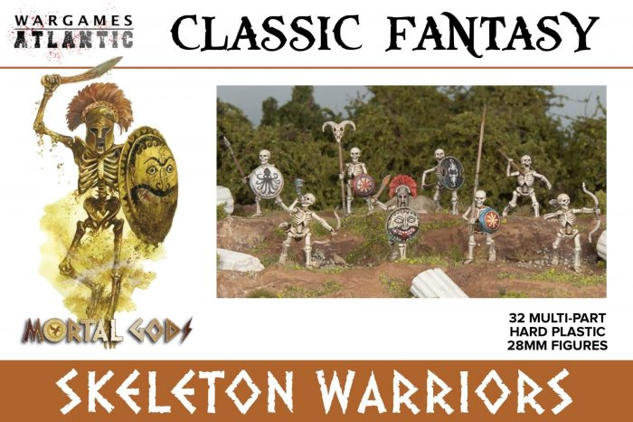 Skeleton Infantry Box Set, Wargames Atlantic