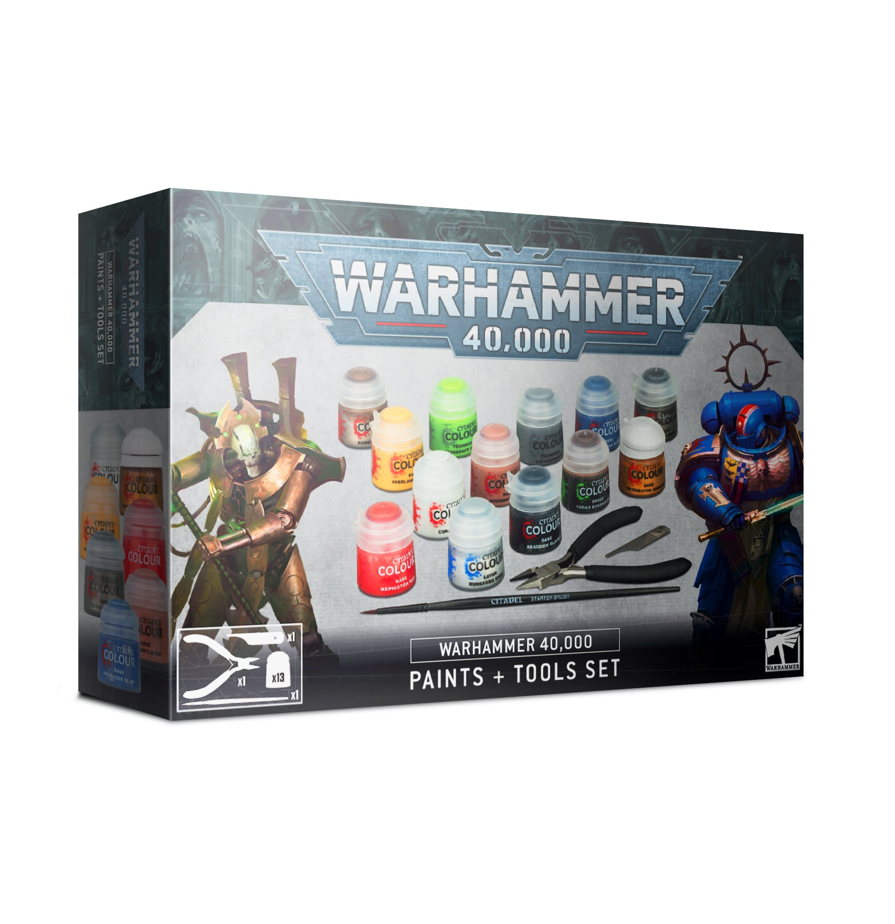 Paint and Tools Set, Warhammer 40,000