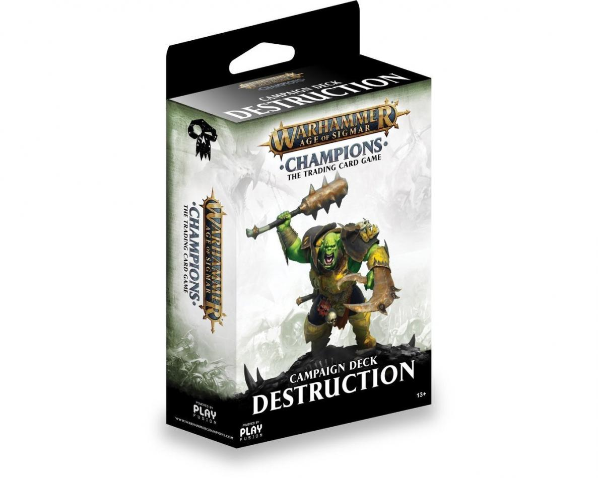 Champions Campaign Deck - Destruction, Warhammer Age of Sigmar Champions Wave 1