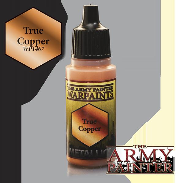 True Copper, Army Painter Metallic
