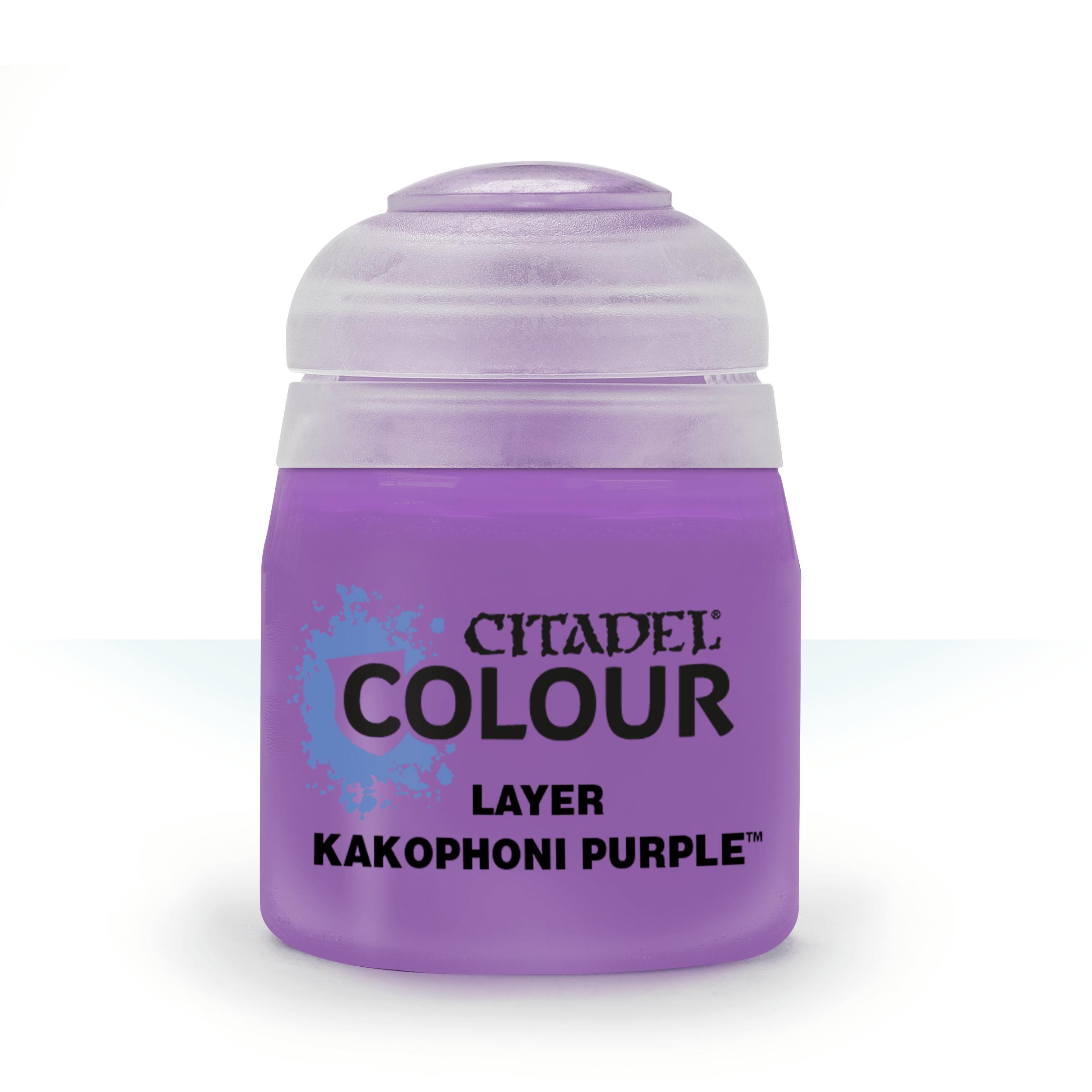 Kakophoni Purple, Citadel Layer 12ml
