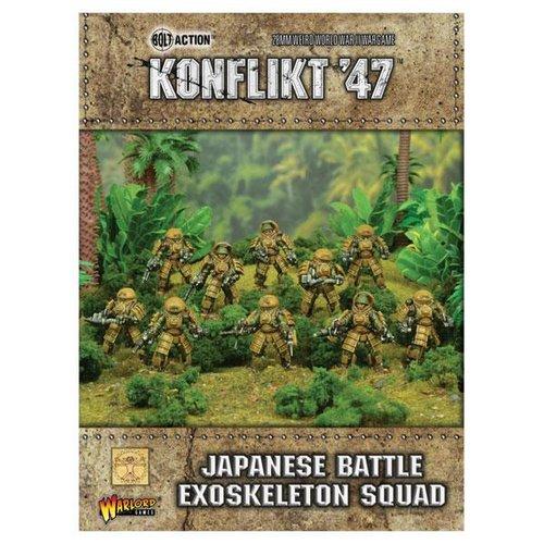Battle Exoskeleton Squad, Japanese