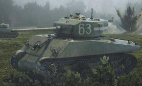M4A2(W)76 Sherman, Rubicon Models