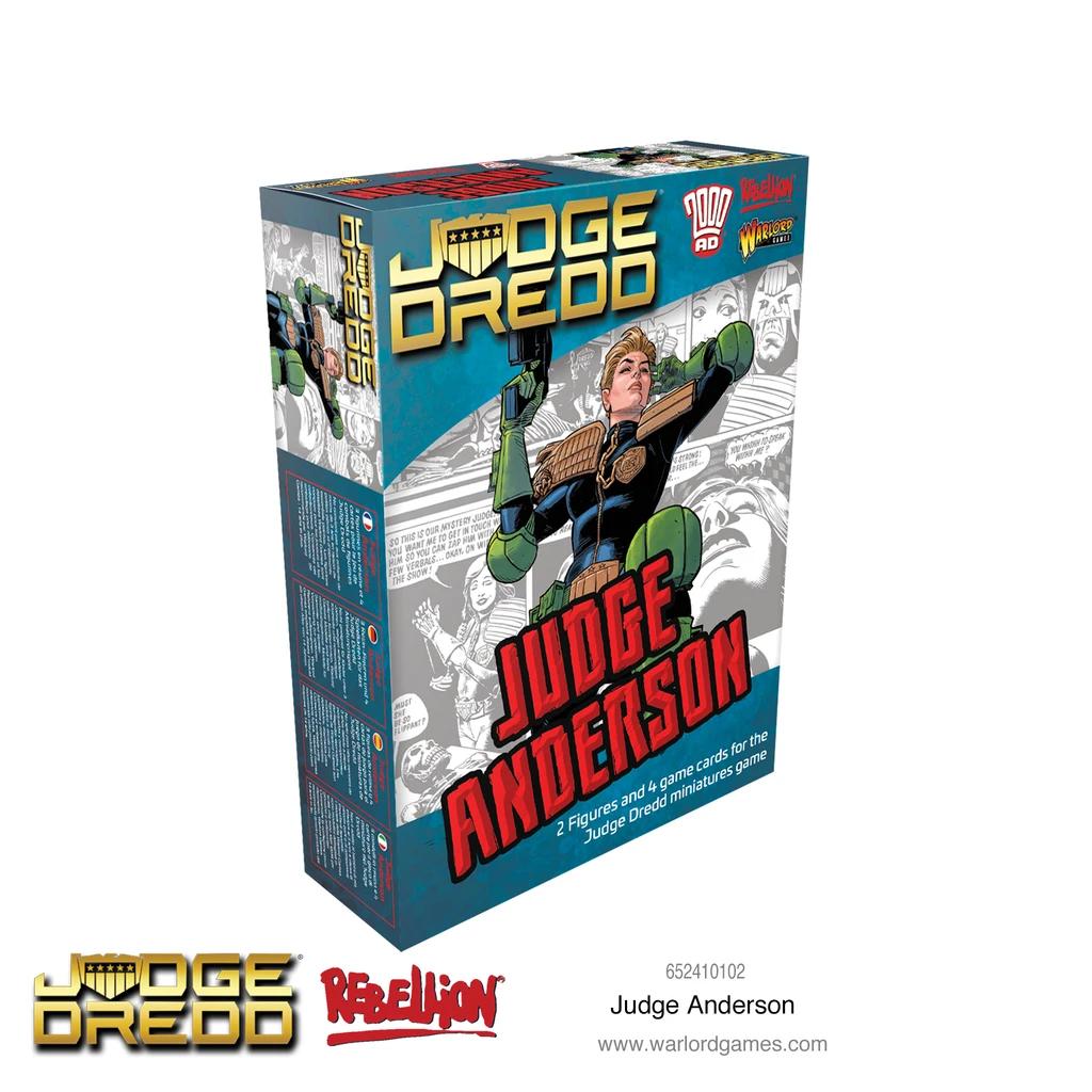 Judge Anderson, Judge Dredd