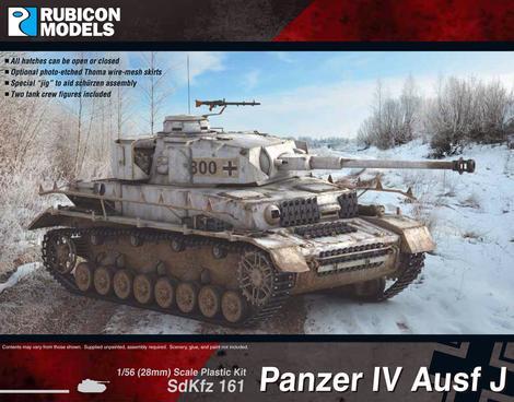 Panzer IV Ausf J, Rubicon Models