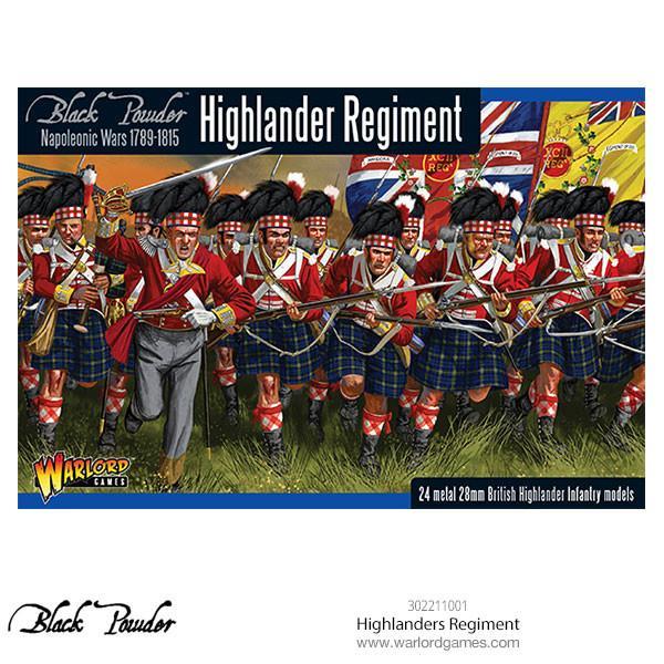 Highlander Regiment Napoleonic