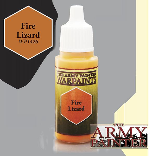 Fire Lizard, Army Painter