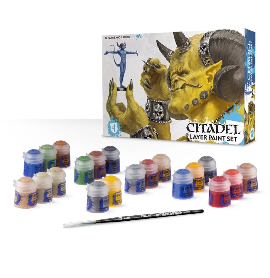 Layer Paint Set