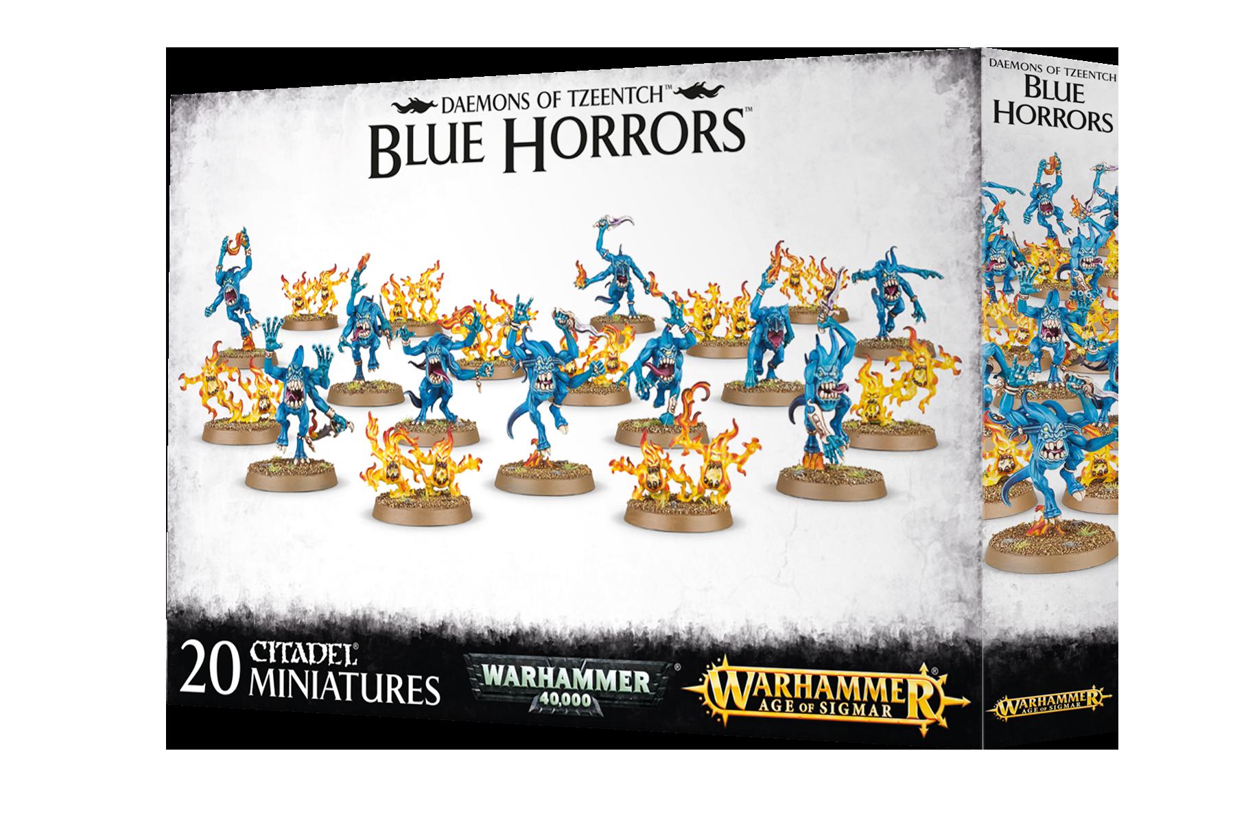 Blue Horrors Daemons of Tzeentch Age of Sigmar