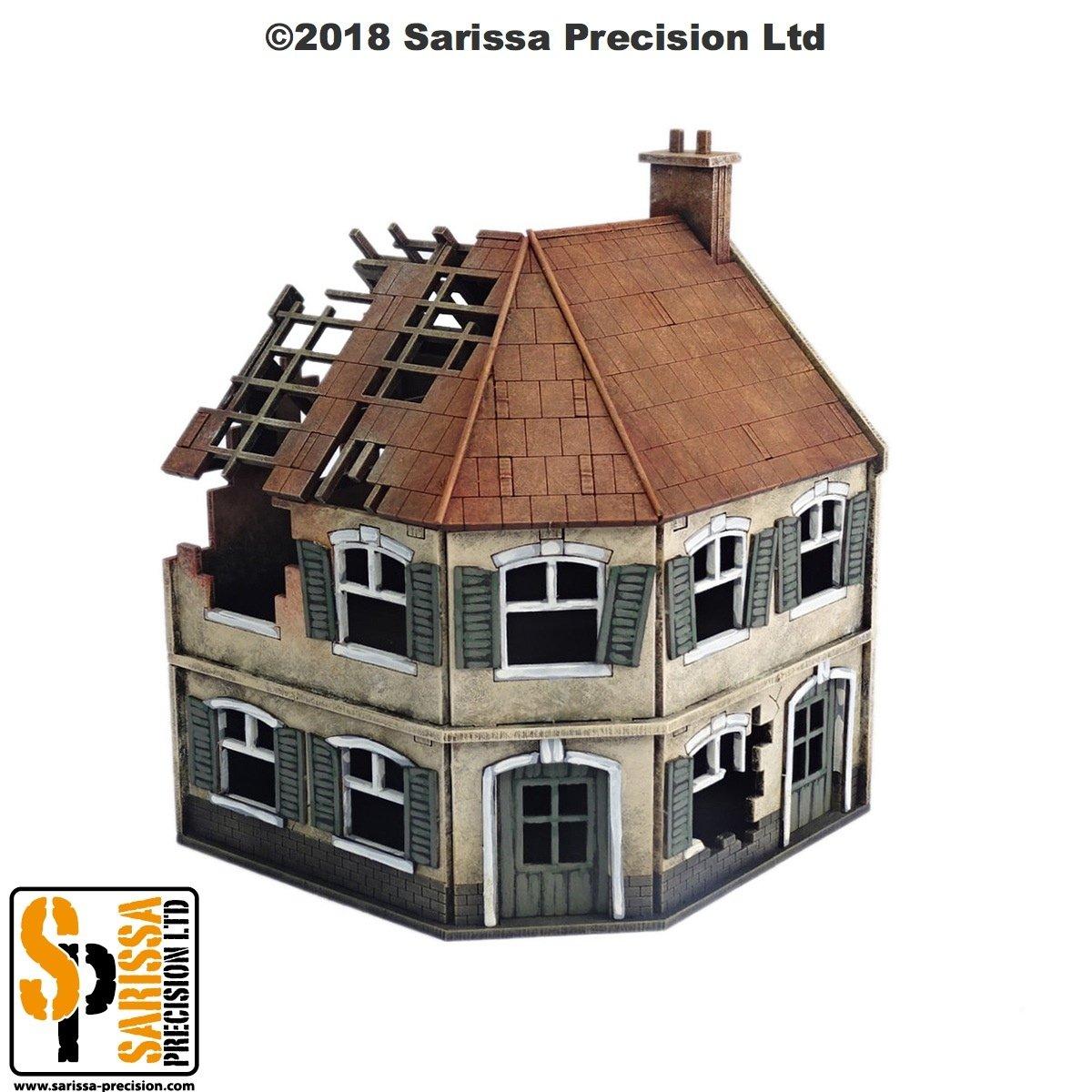 Destroyed Corner Terrace House, Sarissa Precision